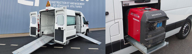 L'intégration d'objet dans vos véhicules est aussi notre spécialité