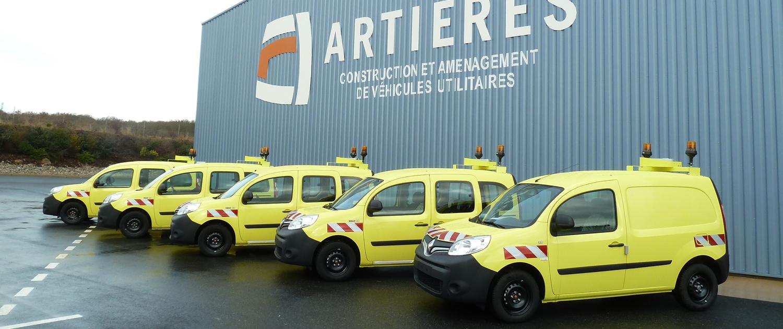 grace à nos 7 ateliers, nous pouvons réaliser rapidement des aménagments sur l'ensemble de vos véhicules